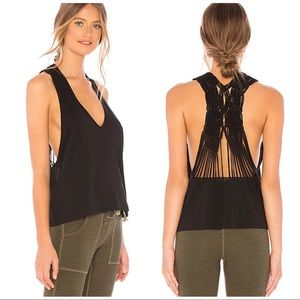 Free People NWT Movement Wilder tank in black